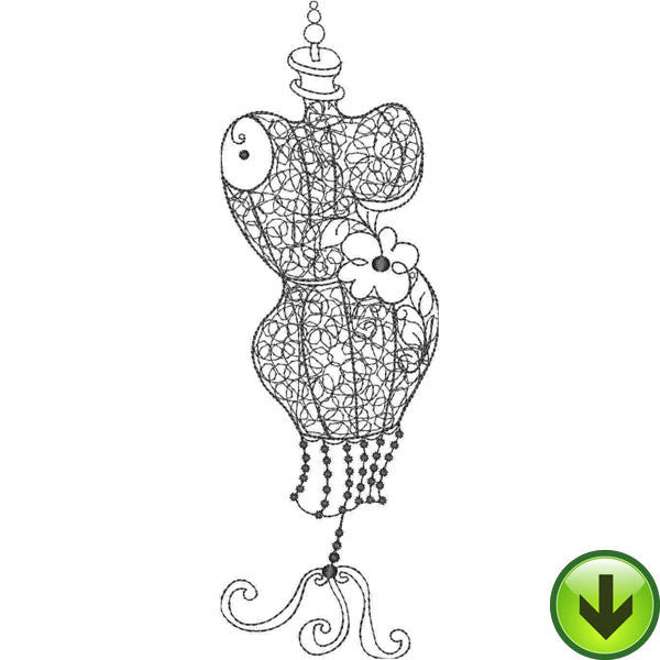 Fancy Form 4 Embroidery Design | DOWNLOAD