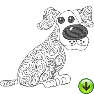 Woody Embroidery Design | DOWNLOAD
