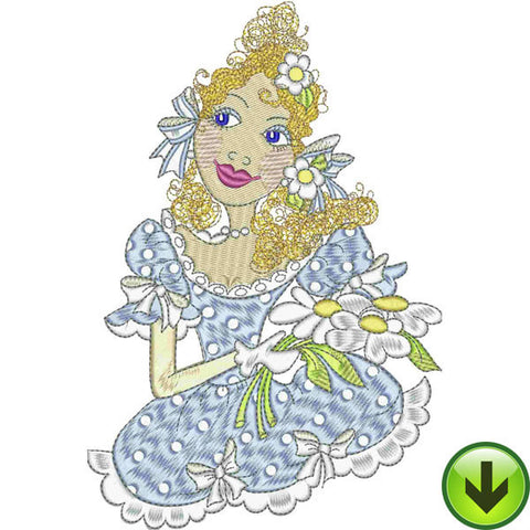 Belle Beauty Embroidery Design | DOWNLOAD