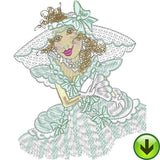 Belles 1 Machine Embroidery Collection | Download