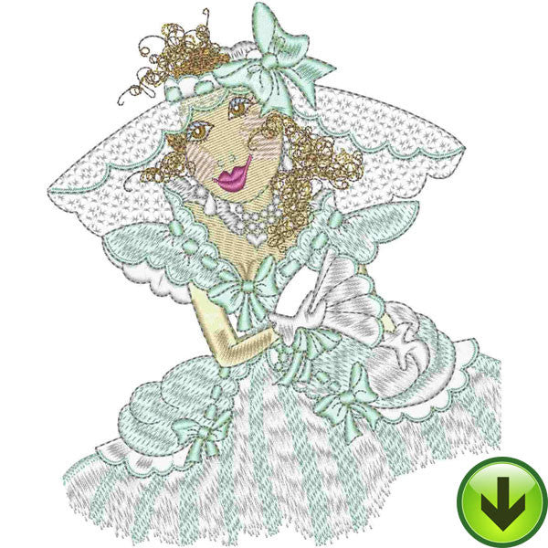 Belle Mia Embroidery Design | DOWNLOAD