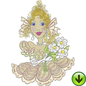 Belle Sunshine Embroidery Design | DOWNLOAD