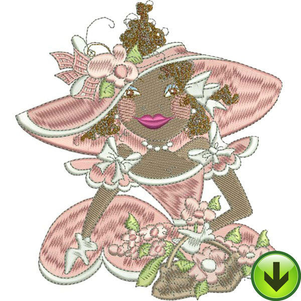 Belle Amber Embroidery Design | DOWNLOAD