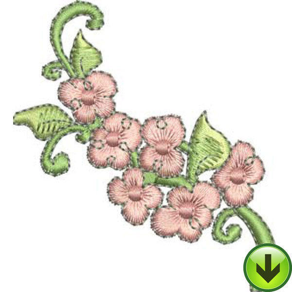 Popcorn Flower Embroidery Design | DOWNLOAD