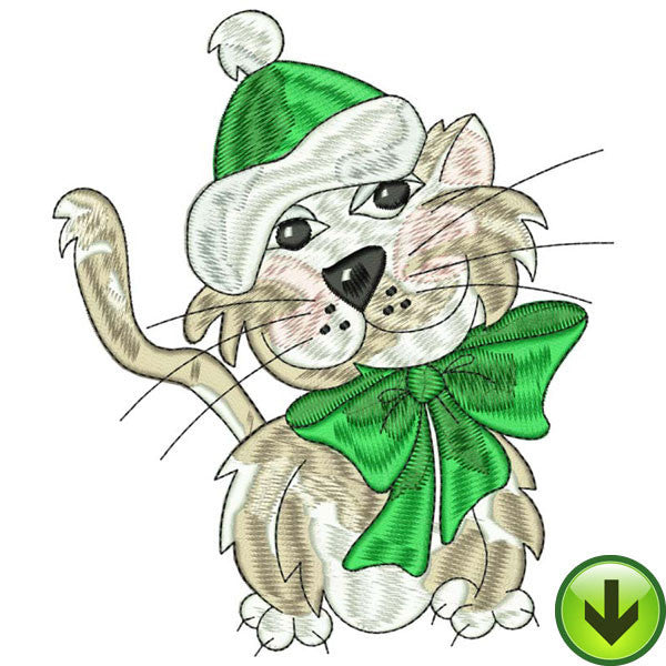 Gato Verde Embroidery Design | DOWNLOAD