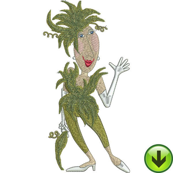Fern Embroidery Design | DOWNLOAD