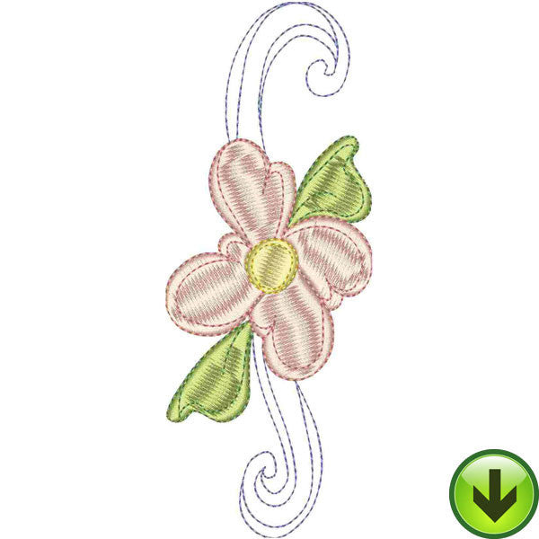 I Upper Case Embroidery Design | DOWNLOAD