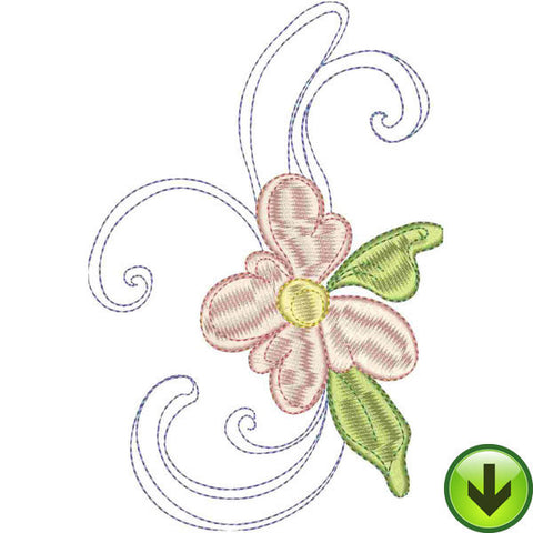 J Upper Case Embroidery Design | DOWNLOAD