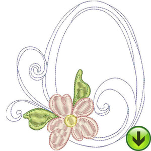 O Upper Case Embroidery Design | DOWNLOAD