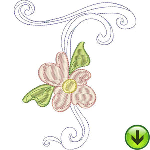 T Upper Case Embroidery Design | DOWNLOAD