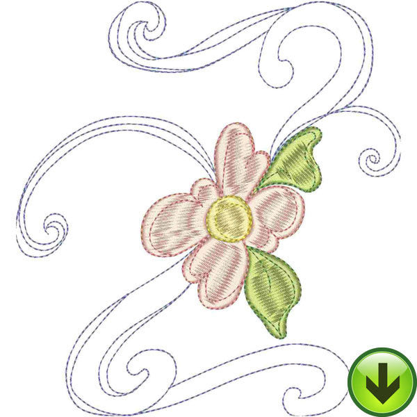Z Upper Case Embroidery Design | DOWNLOAD