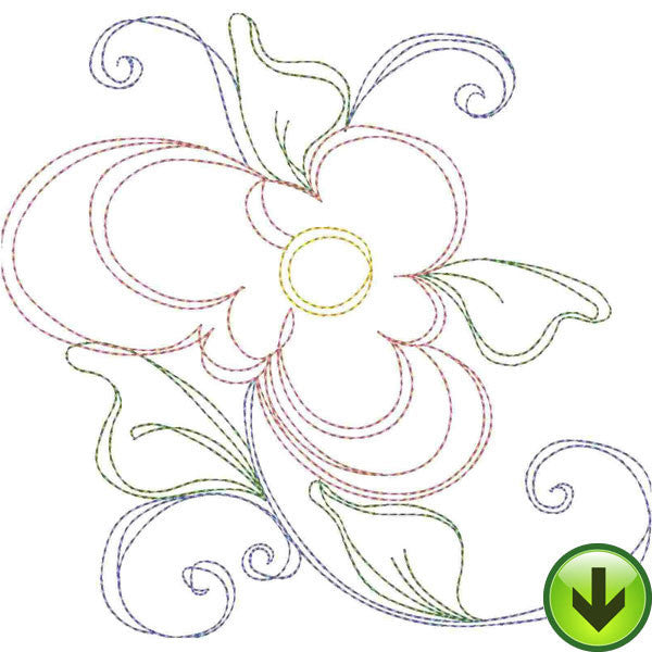 Open Work 2 Embroidery Machine Design Collection | Download