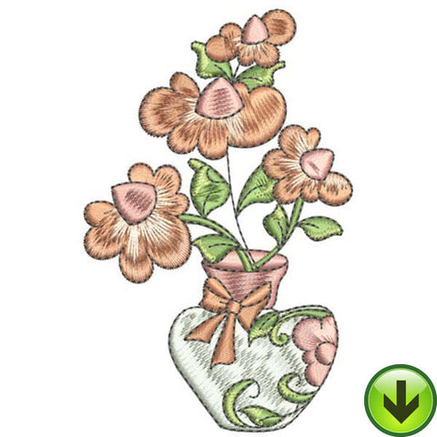 Gumdrop Daisy Bouquet Embroidery Design | DOWNLOAD