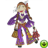 Gypsy Chique 1 Machine Embroidery Design Collection | Download