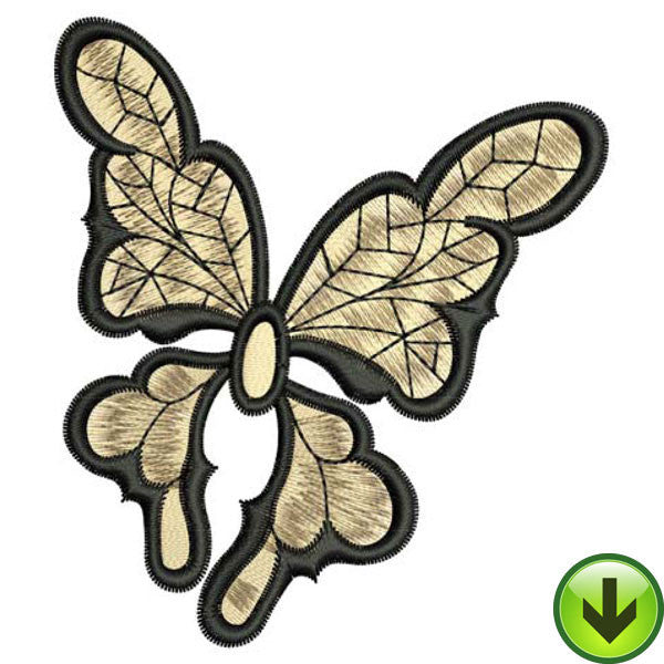 Web Wings Embroidery Design | DOWNLOAD