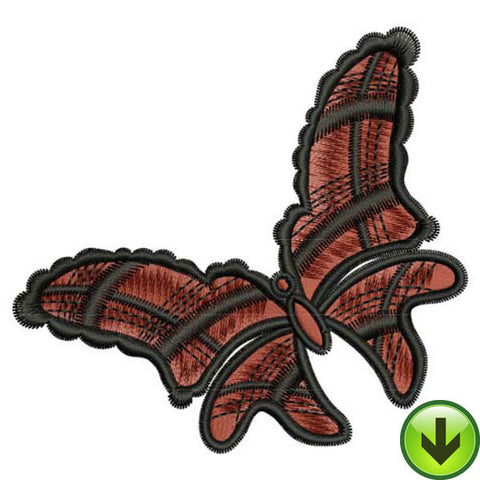Wild Plaid Embroidery Design | DOWNLOAD