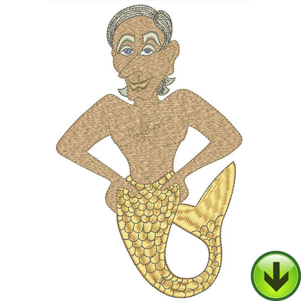 Mermen Machine Embroidery Collection | Download