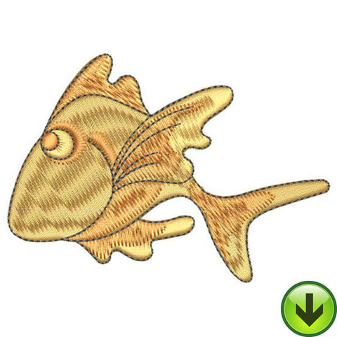 Happy Sweet Fish Embroidery Design | DOWNLOAD