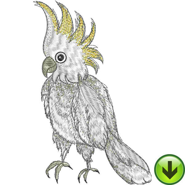 Cockamamie Embroidery Design | DOWNLOAD