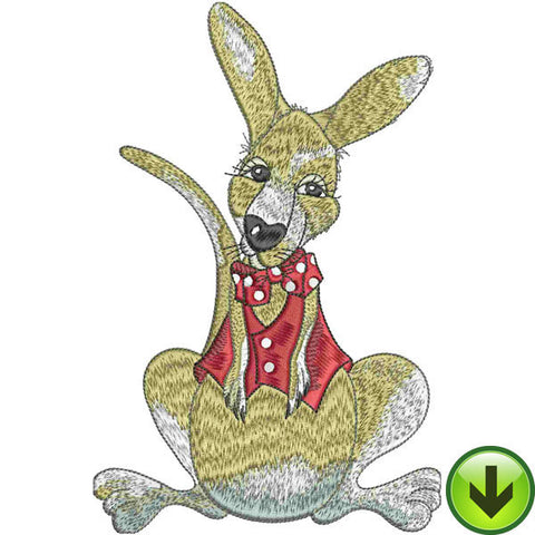 Roo Man Embroidery Design | DOWNLOAD