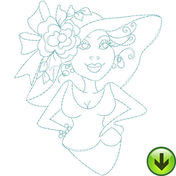 Fast Women 1 Embroidery Machine Design Collection