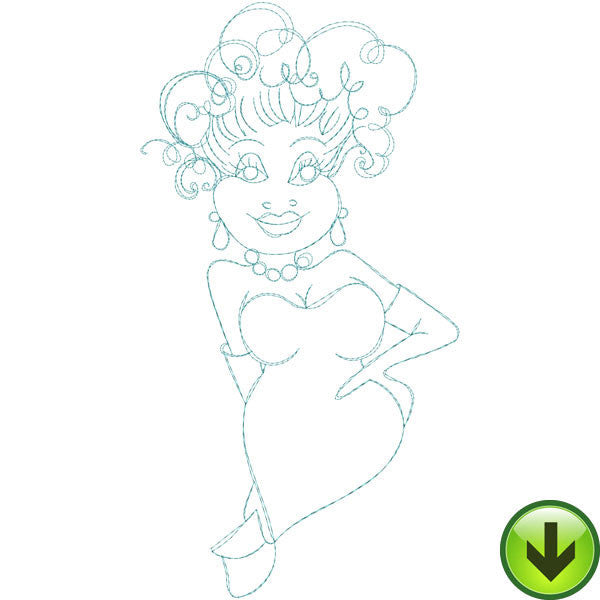 Keisha Embroidery Design | DOWNLOAD
