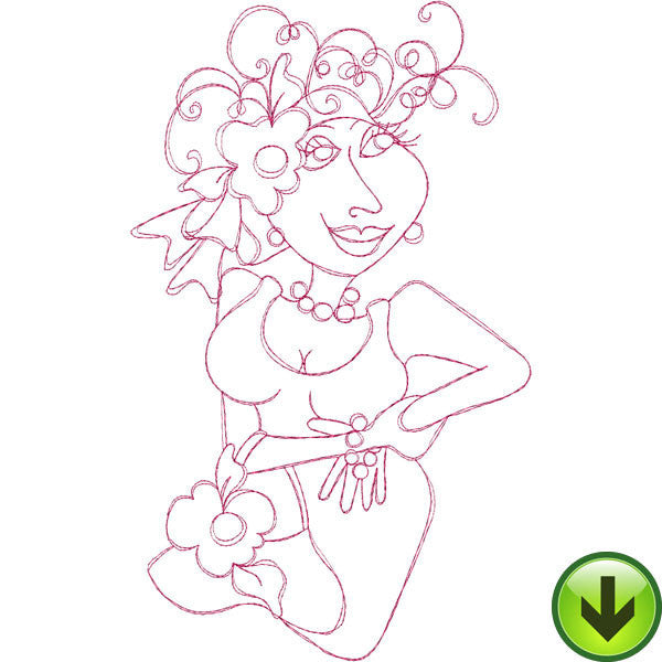 Luella Embroidery Design | DOWNLOAD