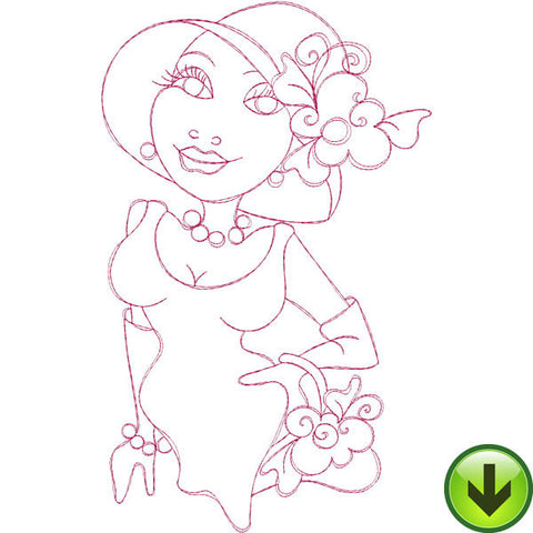 Millie Embroidery Design | DOWNLOAD