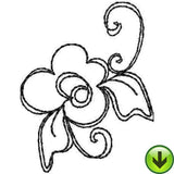 Lovely Ladies Machine Embroidery Collection | Download