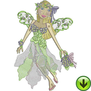 Cari Fairy Embroidery Design | DOWNLOAD