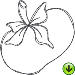 Tomato Embroidery Design | DOWNLOAD
