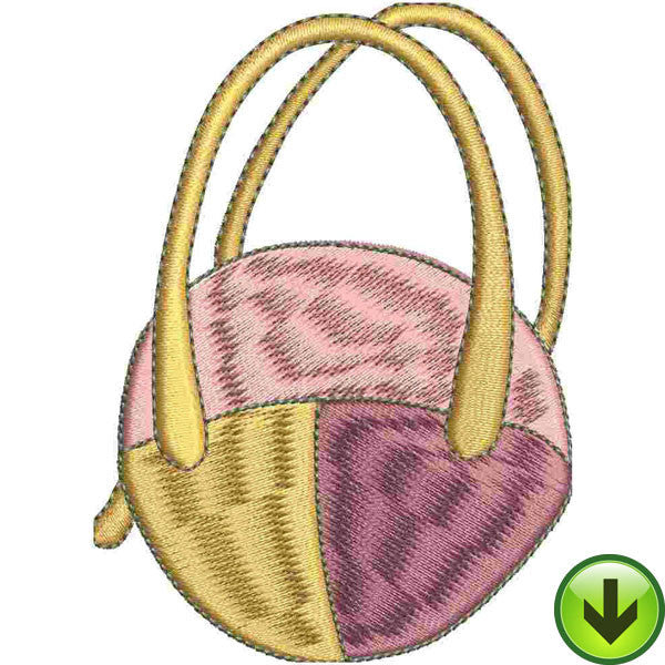 Bag Tropic Embroidery Design | DOWNLOAD