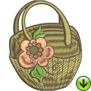 Brown Bag Embroidery Design | DOWNLOAD