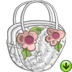 Lady Bag Embroidery Design | DOWNLOAD