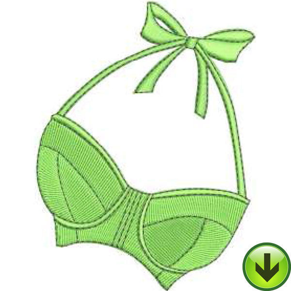 Modern Bra Embroidery Design | DOWNLOAD