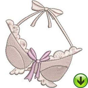 Scallop Bra Embroidery Design | DOWNLOAD