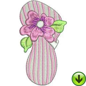 Stripe Flop Embroidery Design | DOWNLOAD