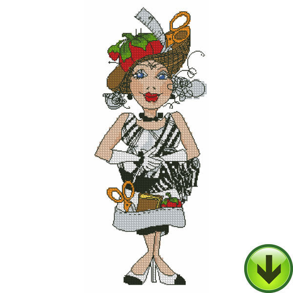Sew Fabulous! Cross Stitch Embroidery Machine Design Collection | Download