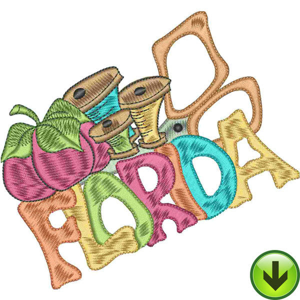 Sew Florida 2 Machine Embroidery Collection | Download