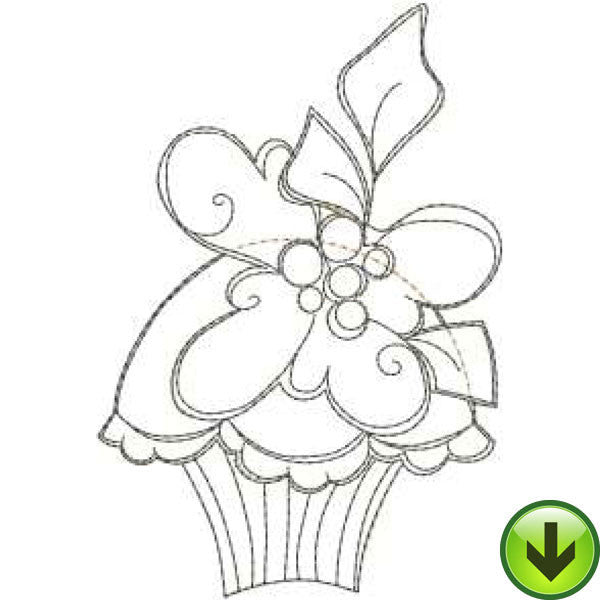 Hey Cupcake 2 Applique Embroidery Machine Design Collection | Download
