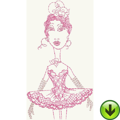 Babette Embroidery Design | DOWNLOAD