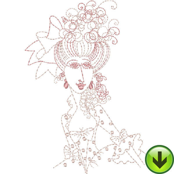 Madameoiselle Coiselle Embroidery Design | DOWNLOAD