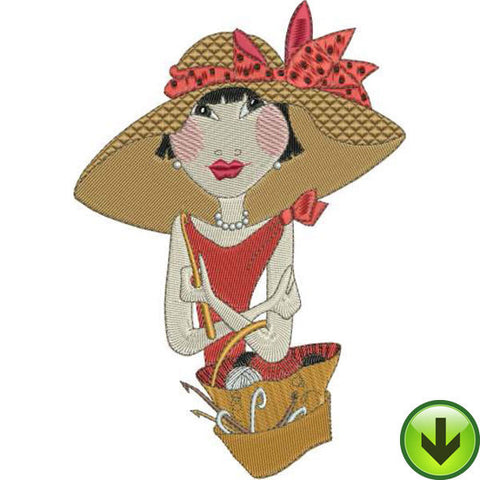Miss Chen Embroidery Design | DOWNLOAD