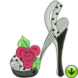 Sew Shoe 1 Embroidery Design | DOWNLOAD