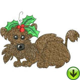 Doggie Holiday Machine Embroidery Collection | Download