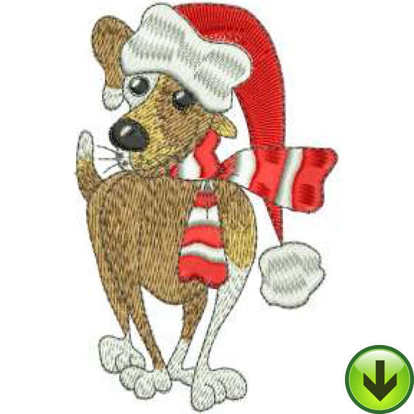 Santa Jake Embroidery Design | DOWNLOAD