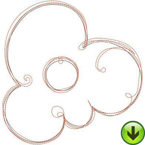 Little Ripple Flower Embroidery Design | DOWNLOAD