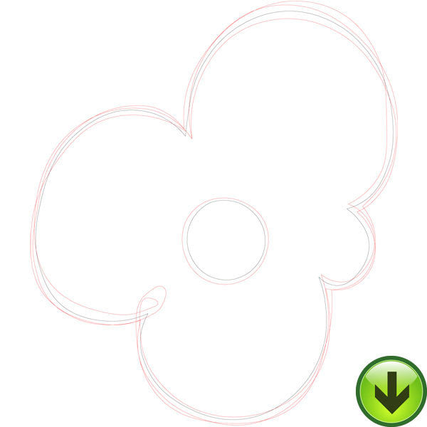 Ripple Flower Embroidery Design | DOWNLOAD