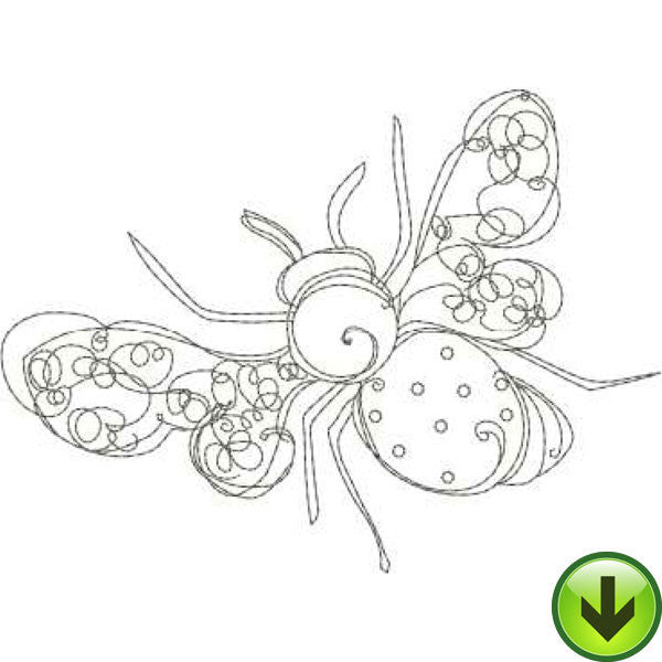 Bee Happy! 2 Machine Embroidery Collection | Download