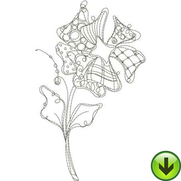 Posie 3 Embroidery Design | DOWNLOAD